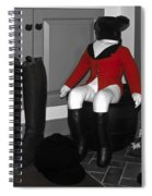 Red Riding Jacket Spiral Notebook