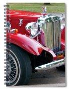 Red Roadster Spiral Notebook