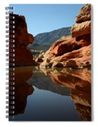 Red Rock Canyon Water Spiral Notebook