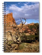 Red Rock Castle Spiral Notebook