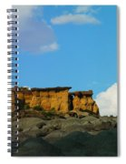 Red Rock In New Mexico Spiral Notebook