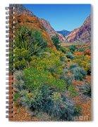 Red Rock Park Spring Flowers Spiral Notebook