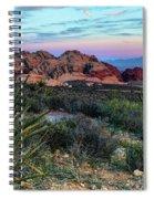 Red Rock Sunset II Spiral Notebook