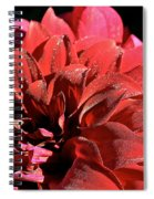 Red Rush Spiral Notebook