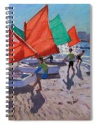 Red Sails Spiral Notebook