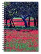 Red Shock Spiral Notebook