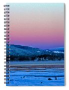 Red Sky At Dawn Spiral Notebook