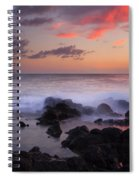 Red Sky Paradise Spiral Notebook
