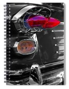 Red Tail Lights Spiral Notebook
