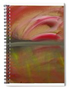 Red Tide White Spiral Notebook