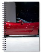 Red Vette Spiral Notebook