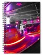 Red Waltz Spiral Notebook