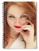 Red White And Blue II Spiral Notebook