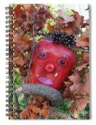 Redhead Scarecrow Spiral Notebook