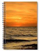 Redington Beach Sunset Spiral Notebook