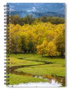 Reflected Seasons Spiral Notebook