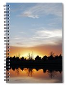 Reflected Sky Spiral Notebook