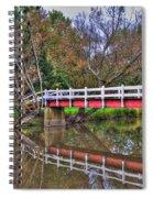 Reflecting Bridge Spiral Notebook