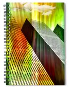 Reflecting On A Day Gone By Spiral Notebook