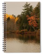 Reflecting On Autumn Spiral Notebook