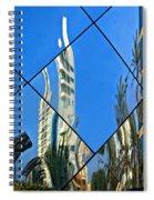 Reflecting On Peru Spiral Notebook