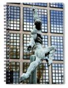 Reflecting Sculpture Spiral Notebook