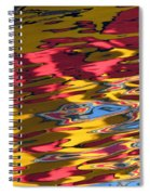 Reflection Abstraction Spiral Notebook