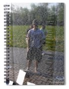 Reflection And Remembrance Spiral Notebook