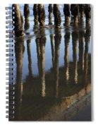 Reflections Avila Beach California Spiral Notebook
