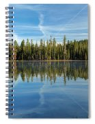 Reflections At The Summit Spiral Notebook