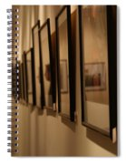 Reflections From A Series Of Painting Frames Spiral Notebook