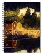 Reflections Golden Morning Spiral Notebook