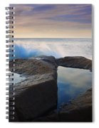Reflections In Monument Cove Spiral Notebook