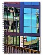 Reflections In San Antonio Texas Spiral Notebook
