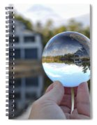 Reflections Of A Beautiful Day Spiral Notebook