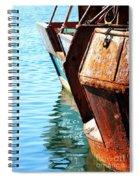 Reflections Of A Rust Bucket Spiral Notebook