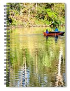 Reflections Of Fathers' Day Spiral Notebook
