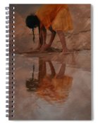 Reflections Of India Spiral Notebook