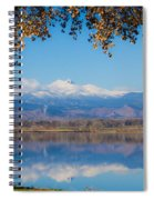 Reflections Of Longs Peak  Spiral Notebook