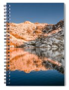 Reflections On Angel Lake Spiral Notebook
