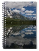 Reflections On Mount Moran Spiral Notebook