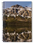 Reflections On Red Eagle Mountain Spiral Notebook