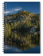Reflections On Salmon Lake Spiral Notebook