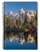 Reflections On Schwabacher Landing Spiral Notebook