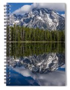 Reflections On String Lake Spiral Notebook
