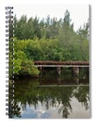 Reflections On The North Fork River Spiral Notebook