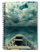 Reflections On The Sea Spiral Notebook