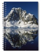 Reflections With Ice Spiral Notebook