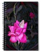 Reflective Beauty Spiral Notebook
