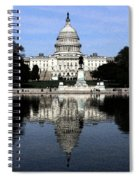 Reflective Government Spiral Notebook